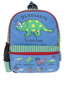 Modro-zelený chlapčenský batoh Tyrrell Katz Dinosaurus