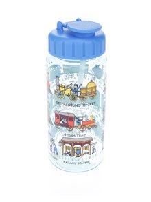 Modrá klučičí lahev na pití Tyrrell Katz Trains