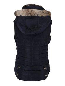 Tmavě modrá dámská prošívaná vesta Tom Joule