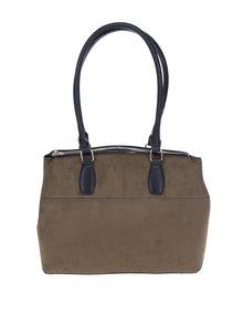 Khaki kabelka s detaily ve zlaté barvě Dorothy Perkins