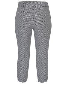 Pantaloni trei sferturi cu model pepit și cordon Dorothy Perkins Petite