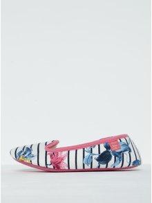 Papuci cu dungi și blăniță artificială - Tom Joule Dreama