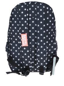 Čierny batoh s motívom hviezd Superdry Montana 17 l
