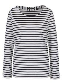 Bluză albastru&alb cu model în dungi Maison Scotch
