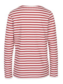 Bluză alb&roșu cu model în dungi Scotch & Soda
