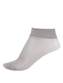 Béžové silonové ponožky Gipsy