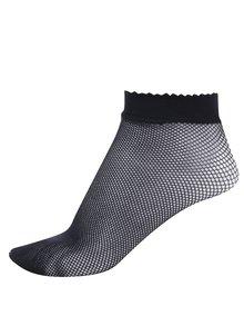 Șosete din plasă negre și scurte - Gipsy