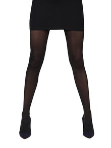 Čierne pančuchové nohavice Gipsy