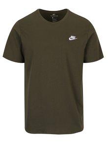 Tricou kaki cu logo pentru bărbați Nike