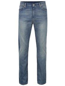 Blugi albaștri elastici cu aspect prespălat pentru bărbați Levi's®