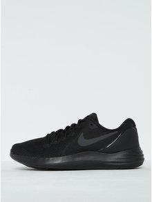 Pantofi sport negri cu perforații Nike Lunar Apparent