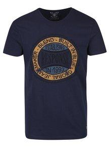 Tmavě modré tričko s potiskem Blend