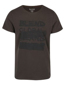 Tricou din bumbac verde închis - Blend
