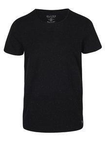 Černé vzorované tričko Blend