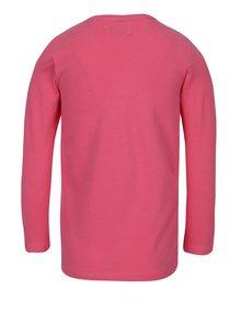 Růžové holčičí tričko s potiskem srdíček 5.10.15.
