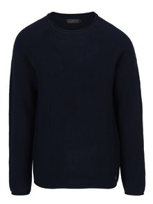 Tmavomodrý sveter Jack & Jones Phil