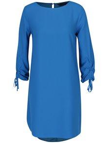 Modré šaty s dlouhým rukávem Dorothy Perkins
