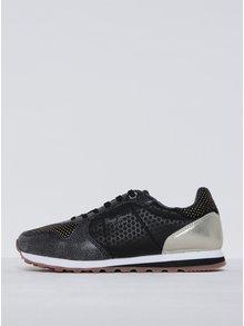 Pantofi sport negri pentu femei Pepe Jeans Verona Remake