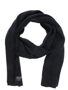 Eșarfă neagră călduroasă pentru bărbați - Jack & Jones Dna