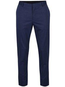 Tmavě modré formální kalhoty Jack & Jones Peter