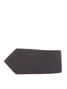Hnědá vlněná kravata Selected Homme New