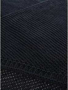 Čierny pletený šál VERO MODA Misty