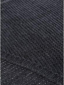 Eșarfă gri închis tricotată VERO MODA Misty