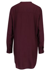 Vínová dlhá košeľa Jacqueline de Yong Safira