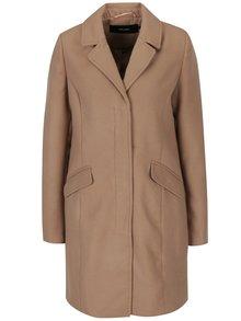 Světle hnědý kabát VERO MODA August