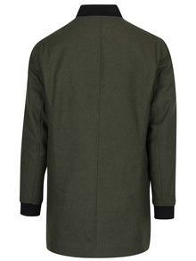 Tmavozelený kabát ONLY & SONS Brahim