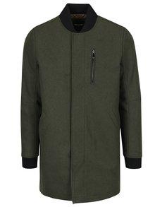 Tmavě zelený kabát ONLY & SONS Brahim