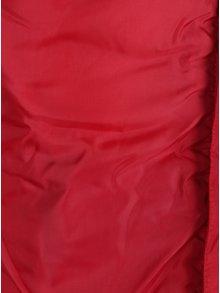Červená holčičí prošívaná bunda Name it Mine