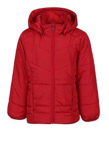 Červená dievčenská prešívaná bunda name it Mine