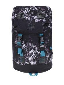 Šedo-černý vzorovaný batoh Meatfly Pioneer 2 26 l