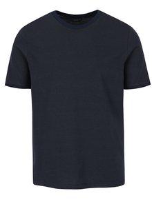 Tmavě modré pruhované tričko Jack & Jones Premium Gladstone
