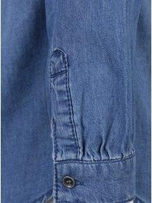 Modrá džínová holčičí košile s dlouhým rukávem Name it Awanal