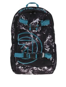 Rucsac unisex gri & turcoaz - Meatfly Basejumper 3 20 l