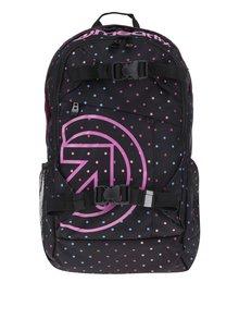 Rucsac unisex negru & roz pentru laptop - Meatfly Basejumper 3 20 l