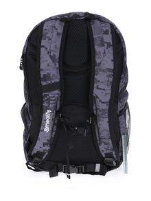 Šedý vzorovaný batoh Meatfly Basejumper 3 20 l