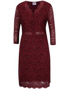 Rochie roșu bordo din dantelă pentru alăptat Mama.licious Marylin