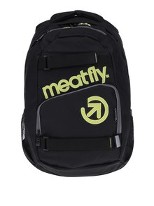 Rucsac negru pentru laptop - Meatfly Exile 2 22 l