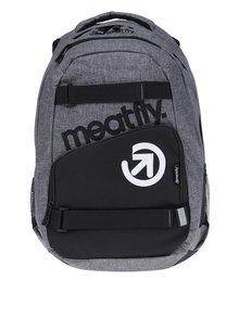 Černo-šedý batoh Meatfly Exile 2 22 l