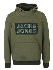 Hanorac verde cu glugă și buzunar - Jack & Jones Kalvo