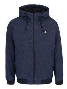 Tmavě modrá nepromokavá bunda s kapucí Jack & Jones Max