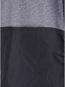 Tmavě šedá bunda na zip Jack & Jones North