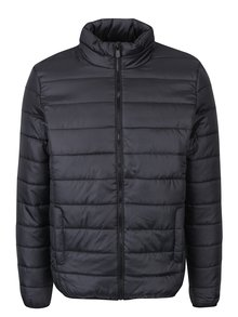 Čierna prešívaná bunda ONLY & SONS Piers