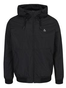 Čierna nepremokavá bunda s kapucňou Jack & Jones Max