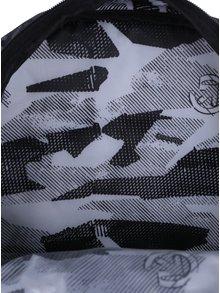Rucsac unisex pentru laptop cu print abstract - Meatfly Vault 26 l