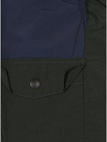 Tmavě zelená vesta s kapsami Jack & Jones Ground