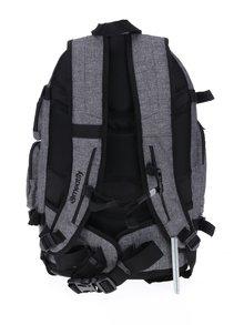 Sivý melírovaný batoh Meatfly Wanderer 28 l